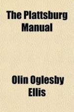 The Plattsburg Manual