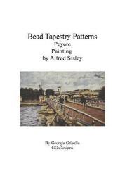 Bead Tapestry Patterns Peyote Painting by Alfred Sisley