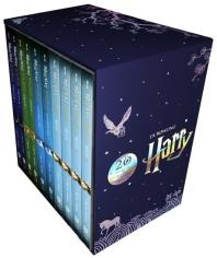 해리 포터 시리즈 1~4권 세트(해리포터 20주년 개정판)