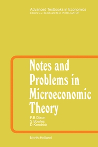 Notes and Problems in Microeconomic Theory