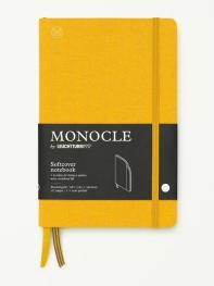 모노클 소프트커버 도트 노트 B6 옐로우(Monocle Booklinen Softcover Dot B6 Yellow)