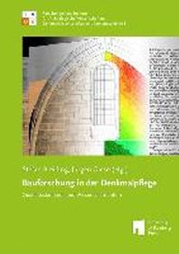 Bauforschung in der Denkmalpflege