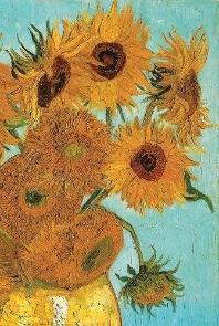 Van Gogh's Sunflowers Notebook