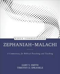 Zephaniah--Malachi