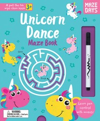 Unicorn Dance Maze Book