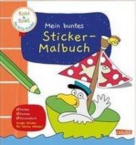 Spiel+Spass fuer KiTa-Kinder: Mein buntes Sticker-Malbuch