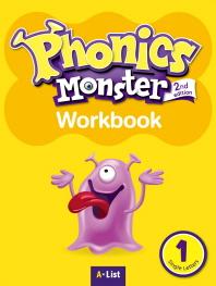 Phonics Monster. 1: Single Letters(Workbook)