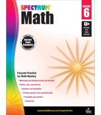 Spectrum Math Grade. 6
