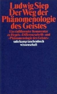 Der Weg der ' Phaenomenologie des Geistes'