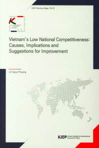 Vietnam's Low National Competitiveness: Causes, Implications and Suggestions for Improvement