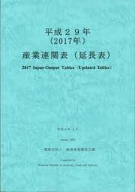 産業連關表(延長表) 平成29年