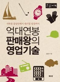억대연봉 판매왕의 영업기술(큰글자책)