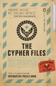 The Cypher Files: An Escape Room??in a Book!