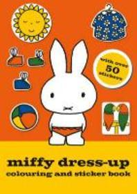 Miffy Dress-up Colouring and Sticker Book