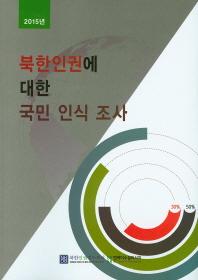 북한인권에 대한 국민 인식 조사(2015)
