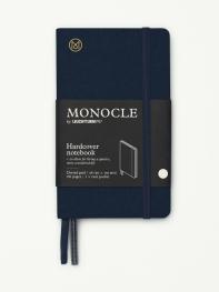 모노클 하드커버 도트 노트 A6 네이비(Monocle Booklinen Hardcover Dot A6 Navy)