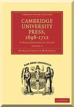 Cambridge University Press, 1696-1712