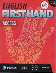 English Firsthand SB Access (W/MyobileWorld)