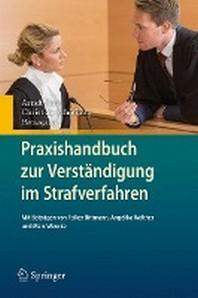 Praxishandbuch Zur Verstandigung Im Strafverfahren