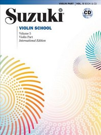 Suzuki Violin School, Vol 5