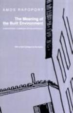 The Meaning of Built Environment