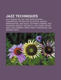Jazz Techniques