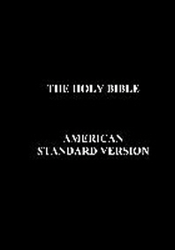 Holy Bible-Asv