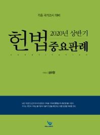 헌법 중요판례(2020년 상반기)