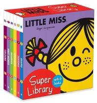 Little Miss: Super Library (6 board books)