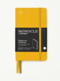 모노클 하드커버 도트 노트 A6 옐로우(Monocle Booklinen Hardcover Dot A6 Yellow)