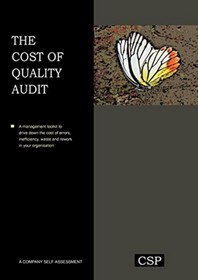 The Cost of Quality Audit