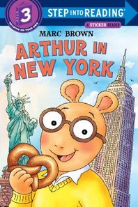 Arthur in New York (Sticker Book)
