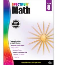 Spectrum Math Grade. 8
