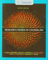 Research Design in Counseling