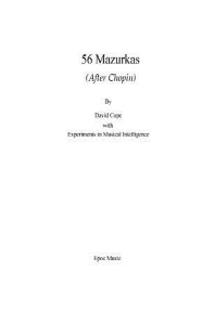 56 Mazurkas
