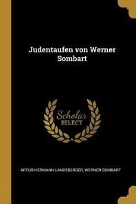 Judentaufen Von Werner Sombart