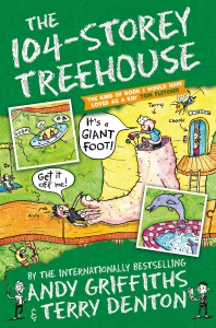The 104-Storey Treehouse (The Treehouse Books)(104층 나무집)