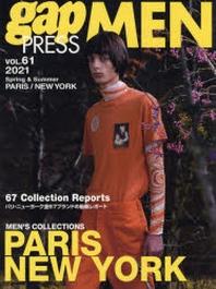 GAP PRESS MEN VOL.61 PARIS,NEW YORK 2021S&S