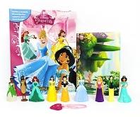 Disney Princess (Hardcover, 미니피규어 9개+팔찌 포함)