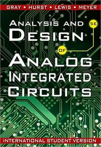 Analysis and Design of Analog Integrated Circuits(Paperback)