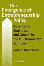 The Emergence of Entrepreneurship Policy
