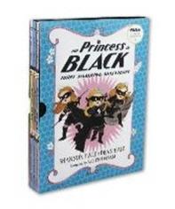 The Princess in Black 1-3 Book set : 블랙 프린세스 1-3권 세트(Paperback)