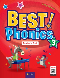 Best Phonics. 3: Long Vowels(Teacher's Book)