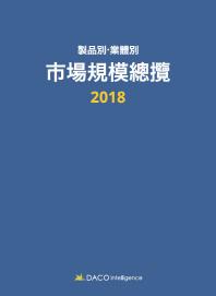 제품별 업체별 시장규모총람(2018)