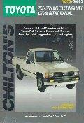 Toyota Pick-Ups, Land Cruiser, and 4-Runner, 1970-88
