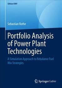 Portfolio Analysis of Power Plant Technologies