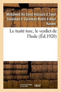 Le Traite Turc, Le Verdict De L'Inde