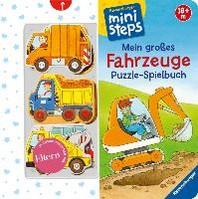 Mein grosses Fahrzeuge Puzzle-Spielbuch
