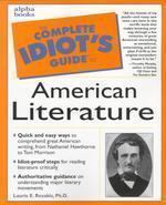Complete Idiot's Guide to American Literature