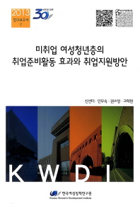 미취업 여성청년층의 취업준비활동 효과와 취업지원방안